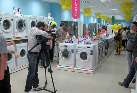 Открытие пилотного магазина сети супермаркетов электроники и бытовой техники «Zet», г. Бобруйск, Беларусь